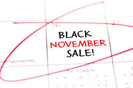 Black november sale Evolio