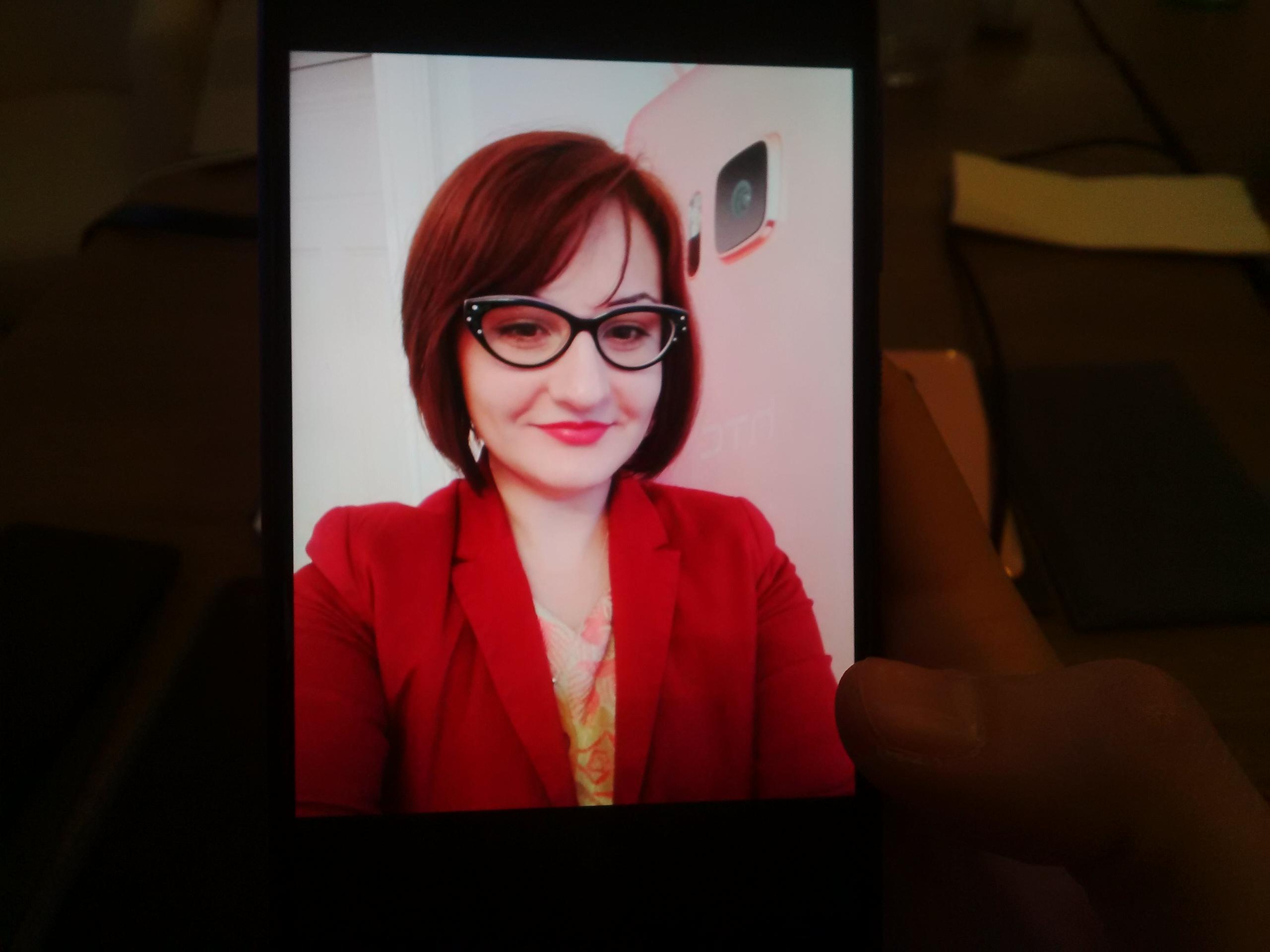 Selfie cu HTC U Ultra