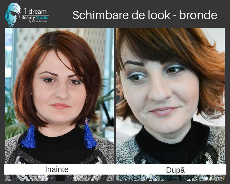 Bronde realizat la 1 Dream Beauty Studio